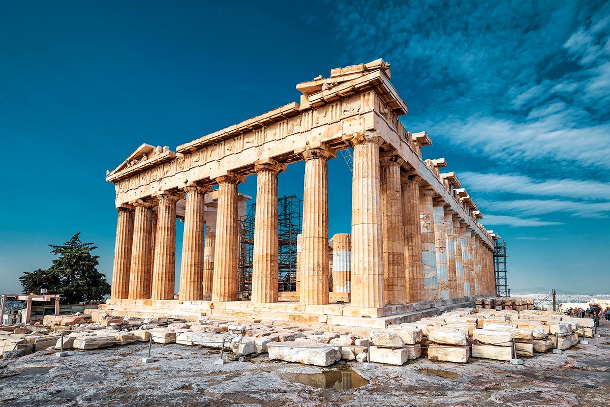 Parthenon, na Grécia