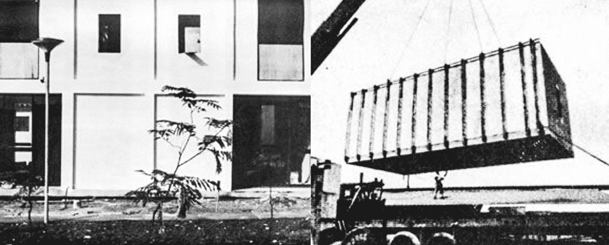 Pré-Fabricados no Brasil, meados do século XX