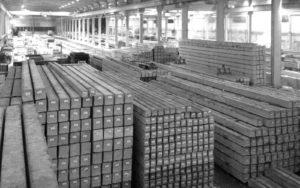 estacas pré-fabricadas