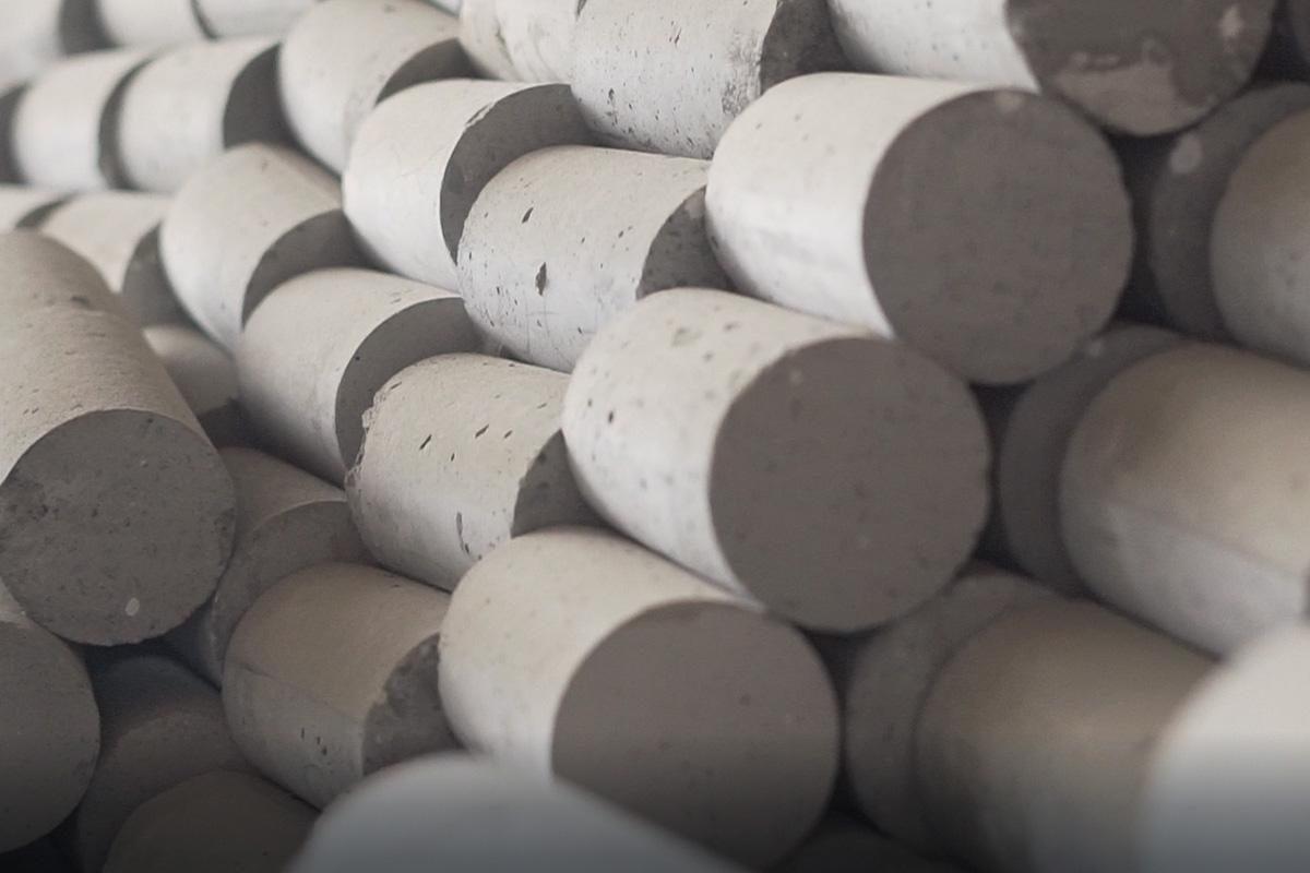 corpos de prova de concreto