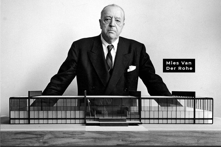 Mies Van der Rohe e o funcionalismo na arquitetura